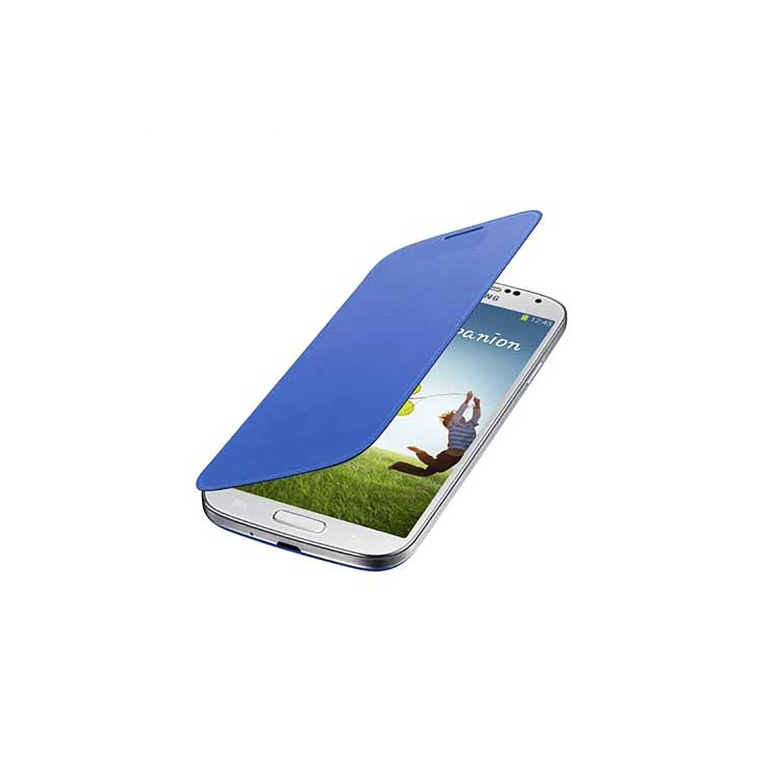 Case - Galaxy S4 Protective Flip Cover Blue
