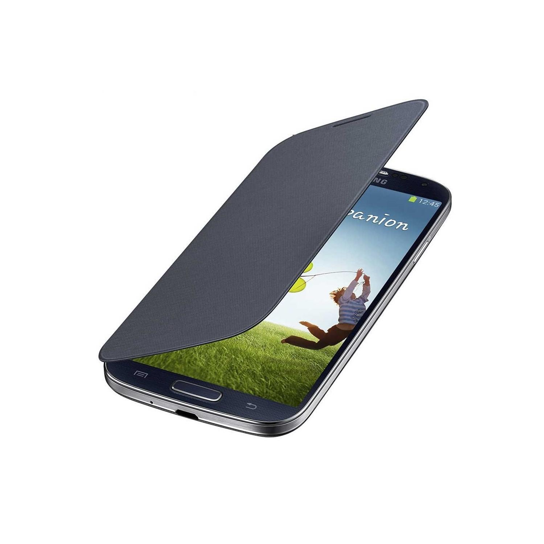 Case - Galaxy S4 Protective Flip Cover Black
