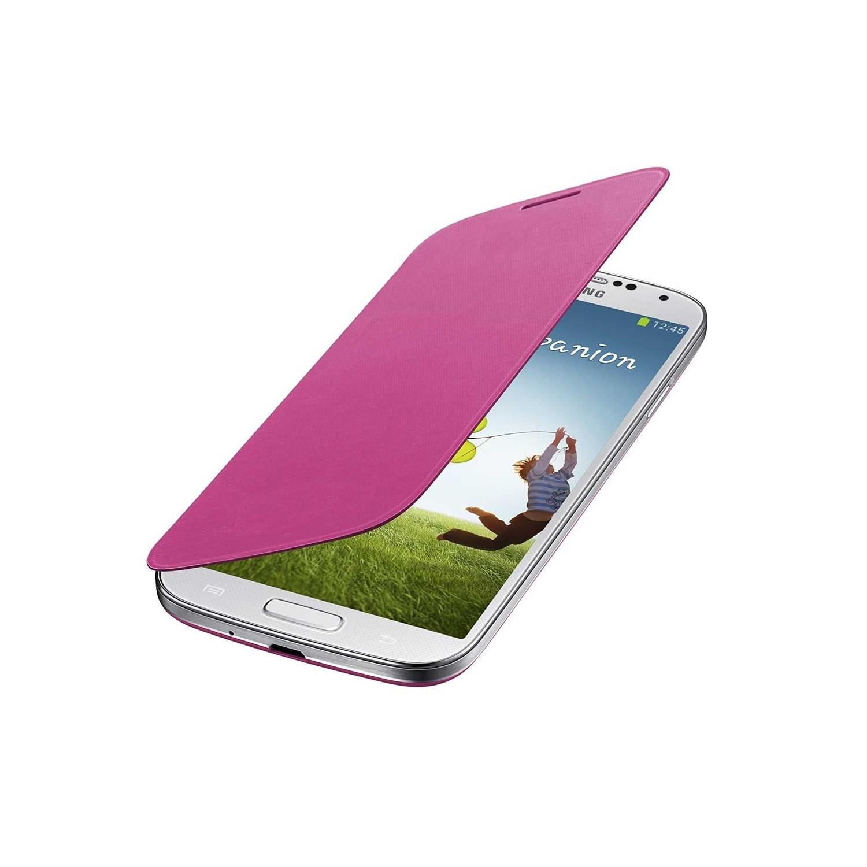 . Funda para SAMSUNG S4 Flip Cover Rosa
