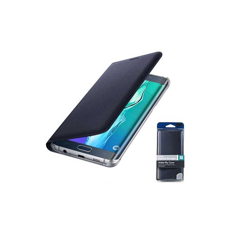 . Funda para SAMSUNG S6 EDGE+ PLUS Wallet Flip Safiro