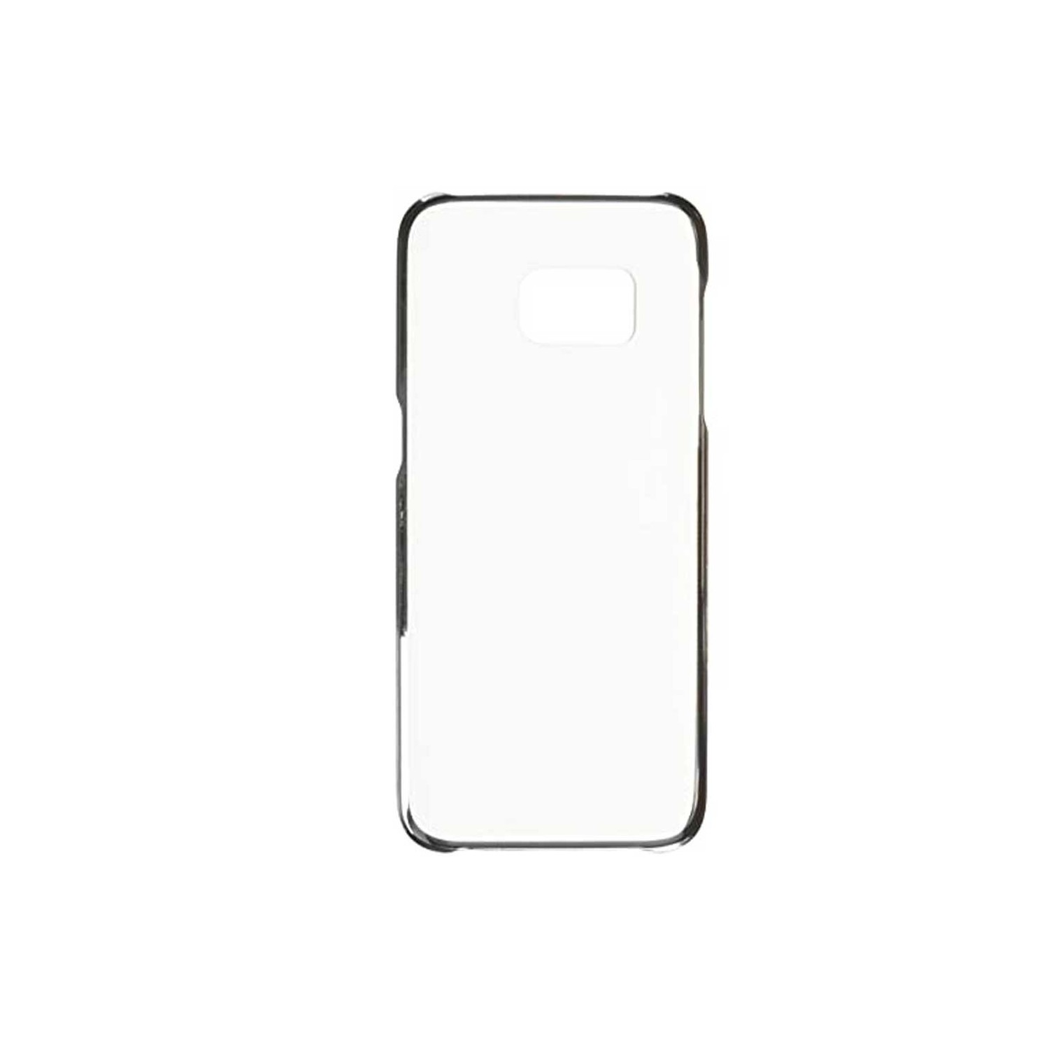 Case - Galaxy S7 Protective cover Clear Black
