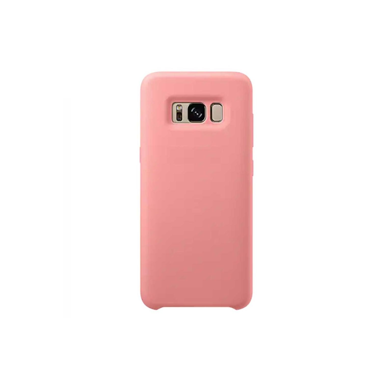 . Funda para SAMSUNG S8 Cover Silicon Rosa