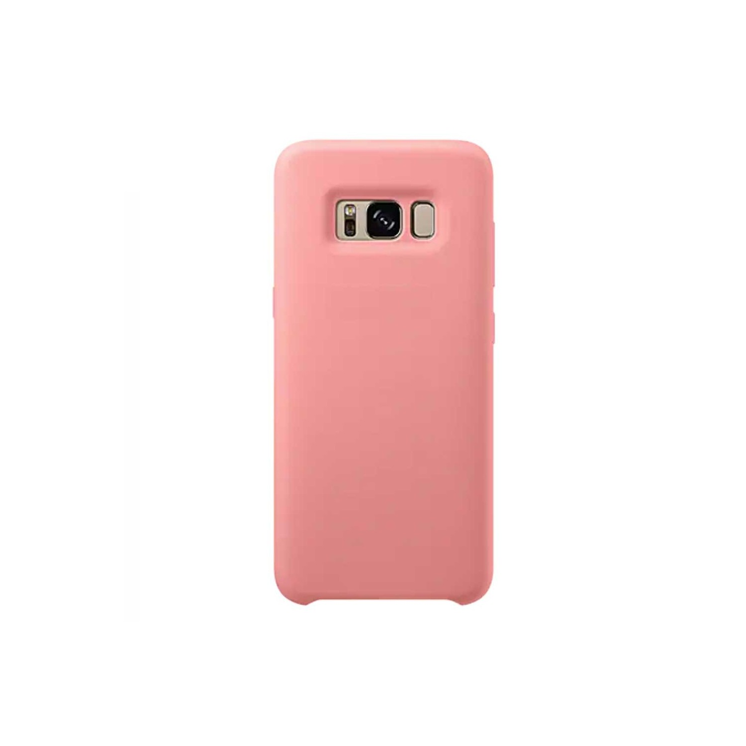 Case - GSamsung Silicone Cover For Samsung Galaxy S8 - Pink