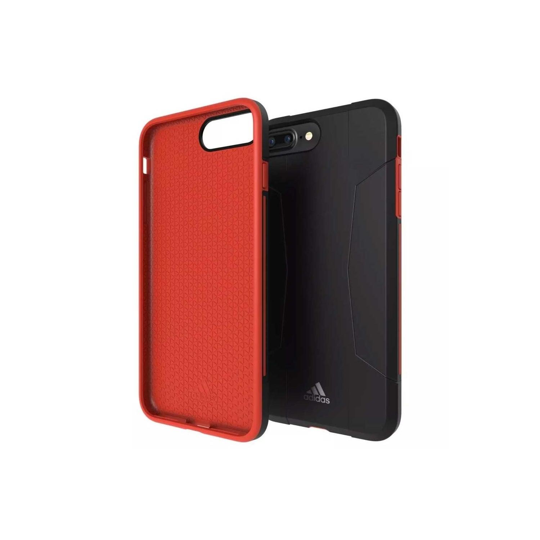 . Funda ADIDAS Solo Case para iPhone 7 PLUS 6 PLUS  Negro rojo