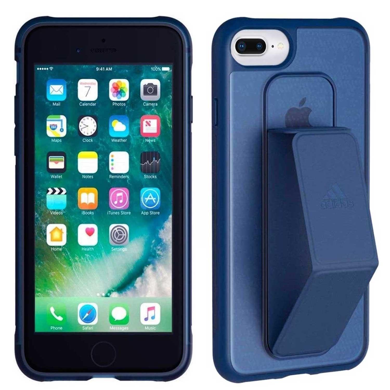 . Funda ADIDAS Grip Case para iPhone8 PLUS 7 PLUS 6 PLUS Azul