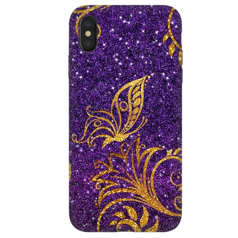 . Funda ARTSCASE StrongFit para iPhoneXs MAX - Butterfly Glitter