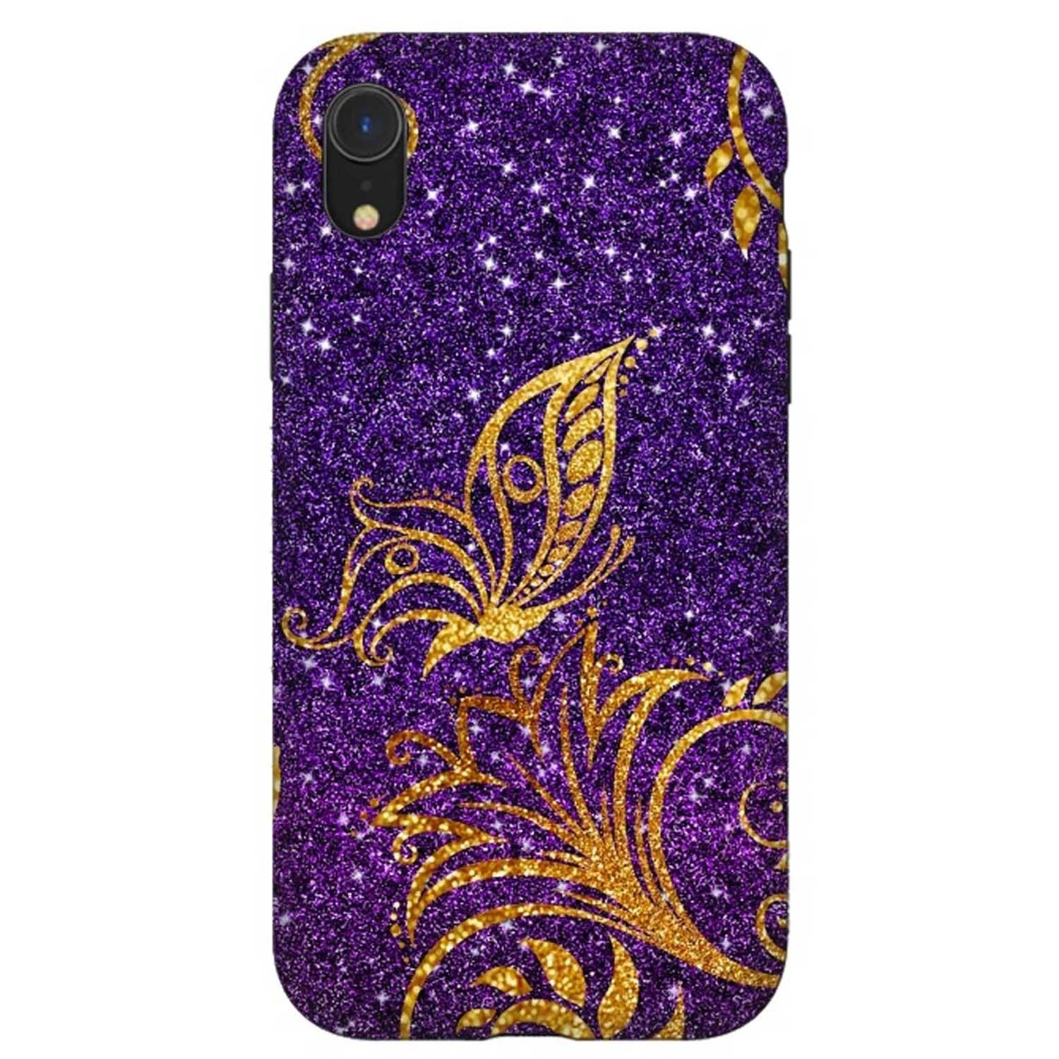 Case -  ArtsCase StrongFit for iPhone  XR Butterfly Glitter