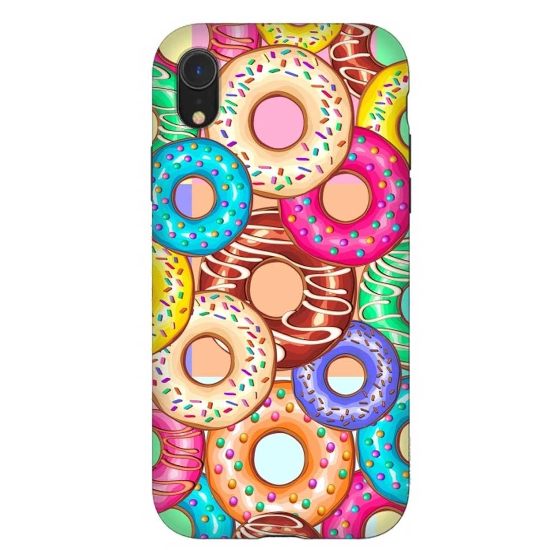 . Funda ARTSCASE StrongFit para iPhoneXR - Donut Punchy
