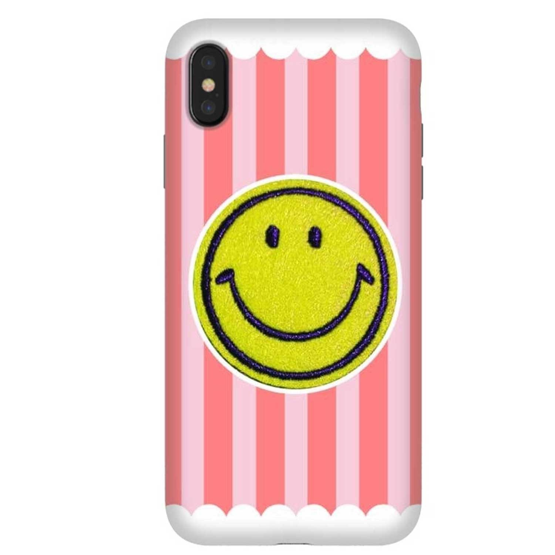 . Funda ARTSCASE StrongFit para iPhoneXs MAX Be Happy