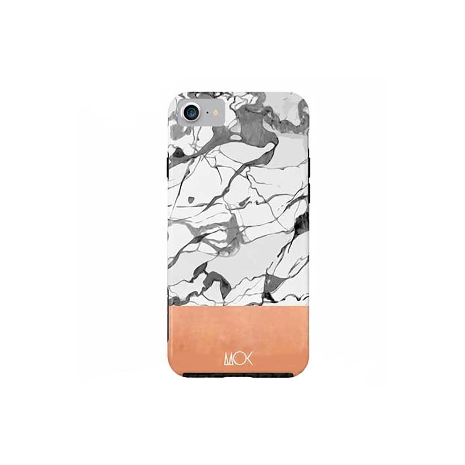Case -  ArtsCase StrongFit for iPhone 7 Marble Copper by MOK