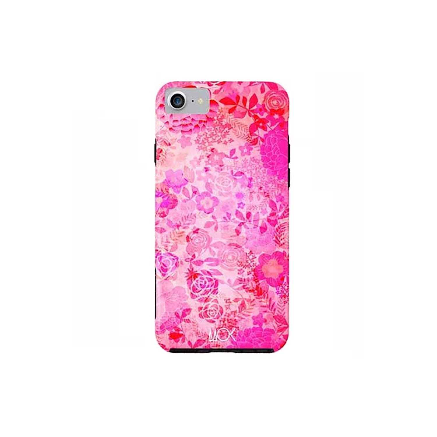 Case -  ArtsCase StrongFit for iPhone 7 Rose Floral by MOK