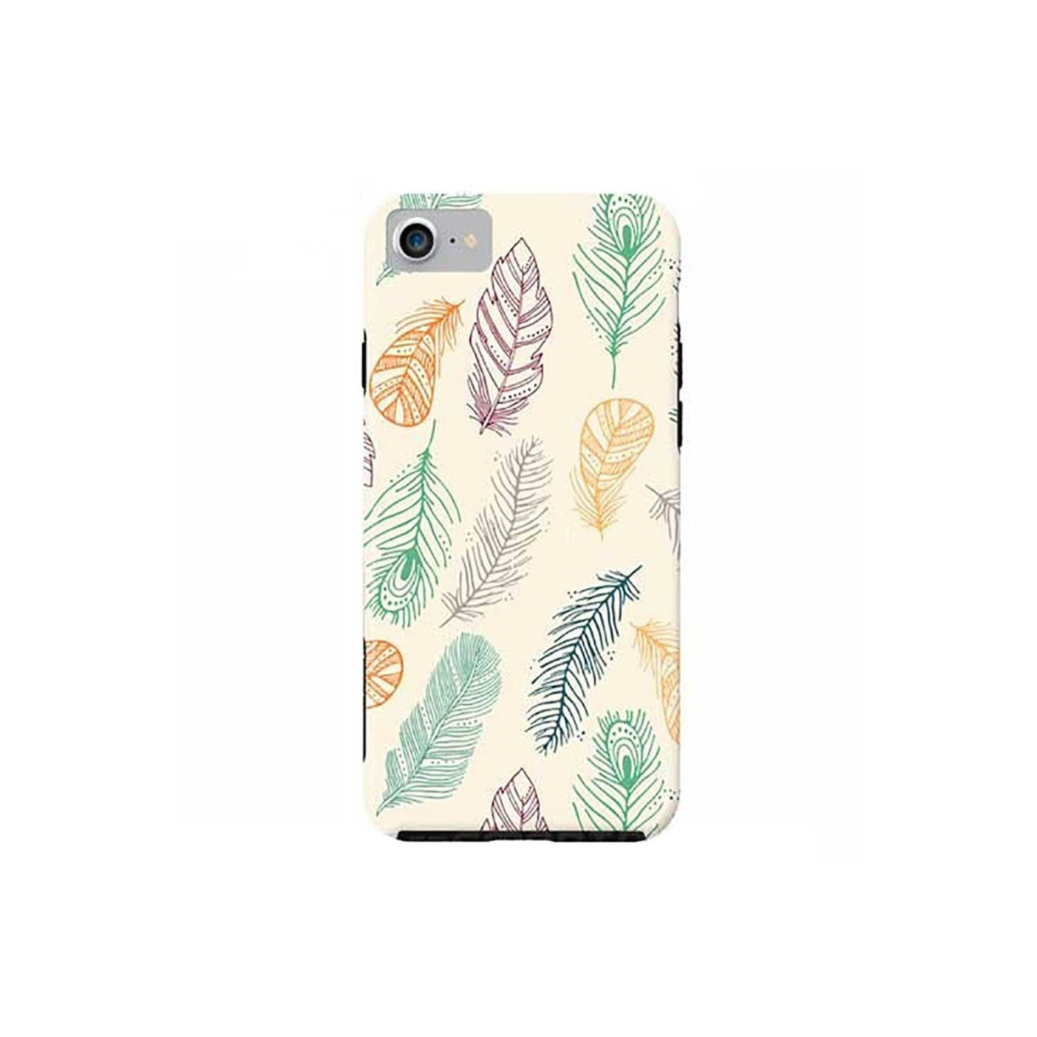 Case -  ArtsCase StrongFit for iPhone 7 Feathers by Tracy Lucy