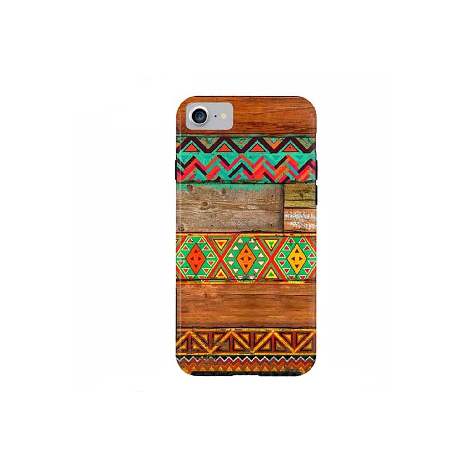 Case -  ArtsCase StrongFit for iPhone 7 Indian Wood by Diego Trigall