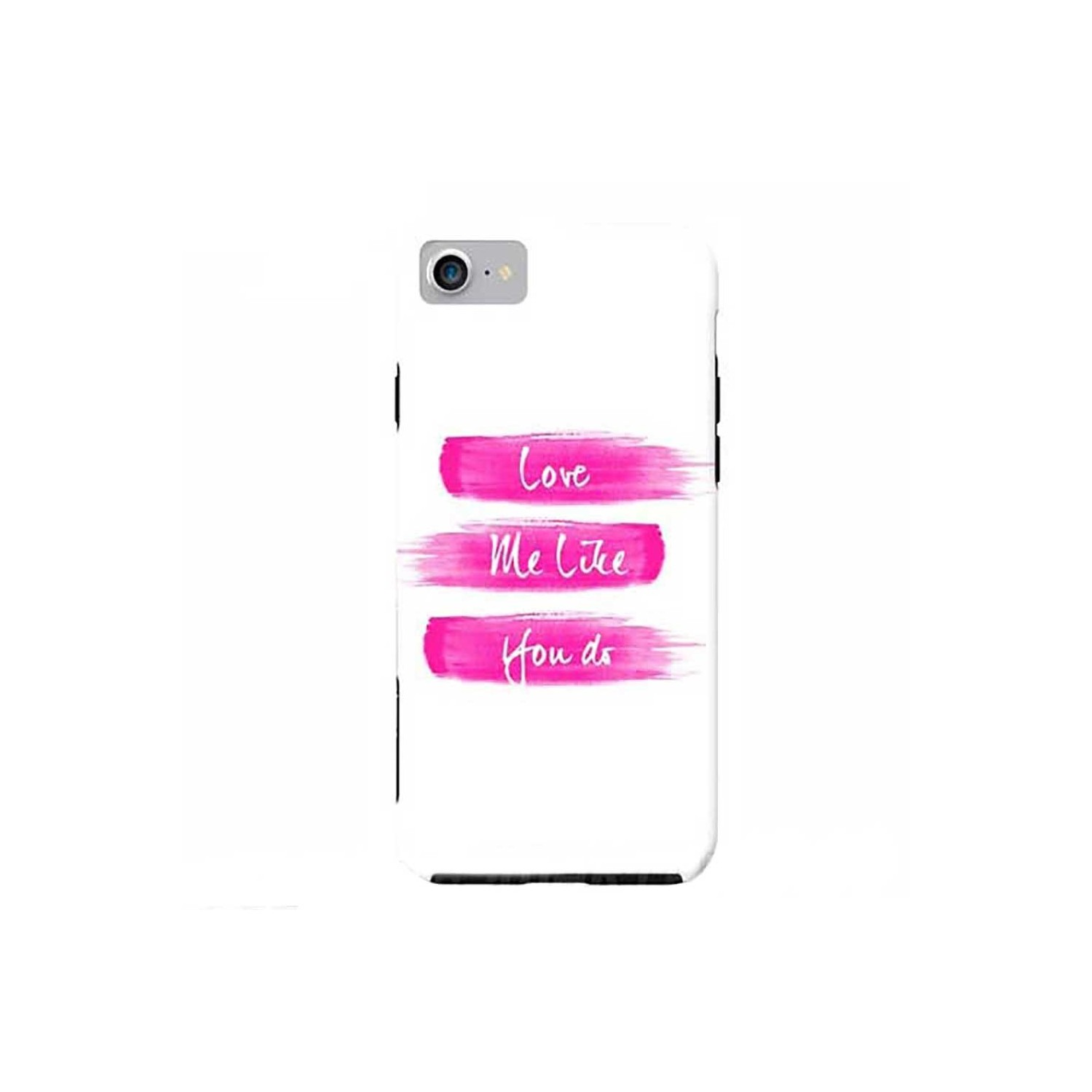 Case -  ArtsCase StrongFit for iPhone 7 Love me Pink by Girly trend