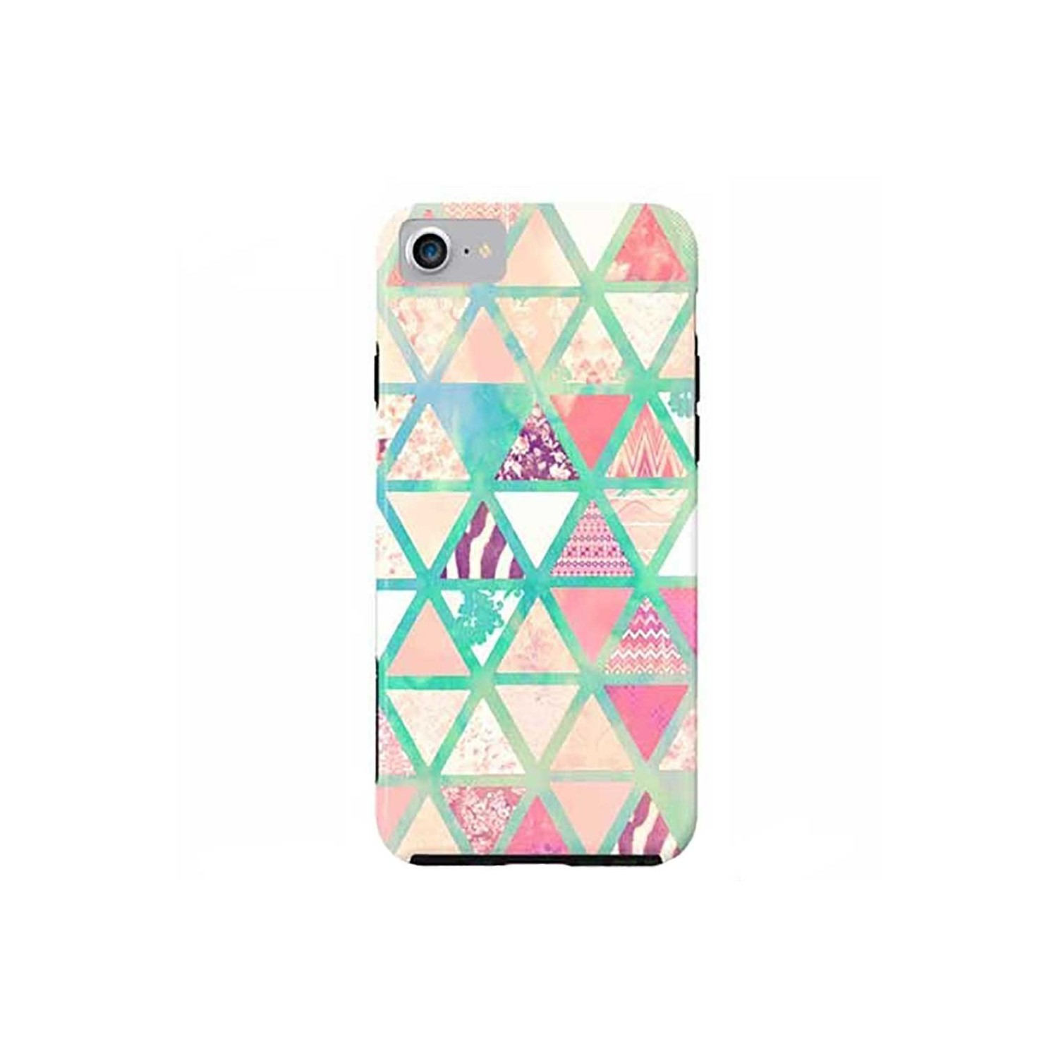 Case -  ArtsCase StrongFit for iPhone 7 Triangles