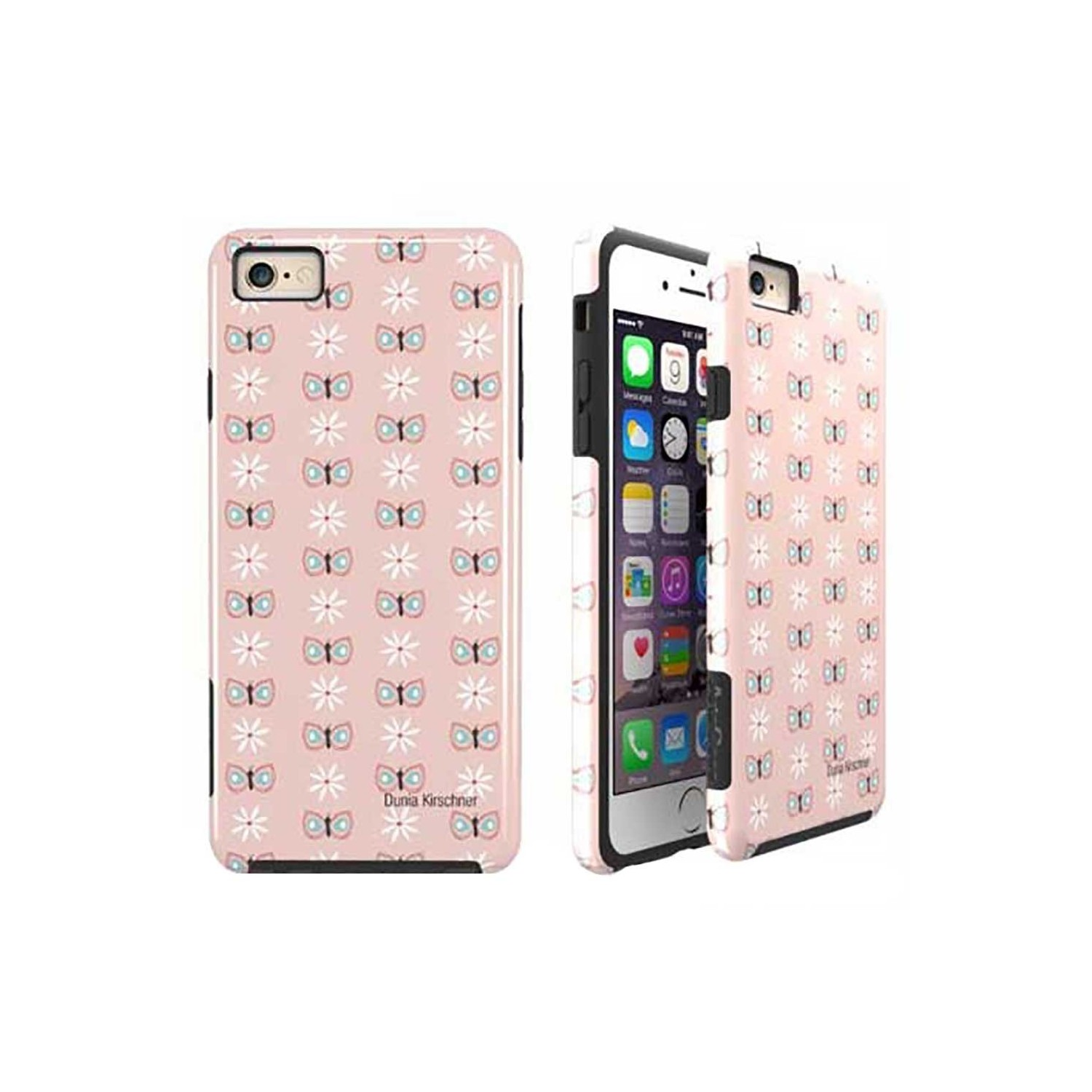 Case -  ArtsCase StrongFit for iPhone 6/6s IceCreamButterfly