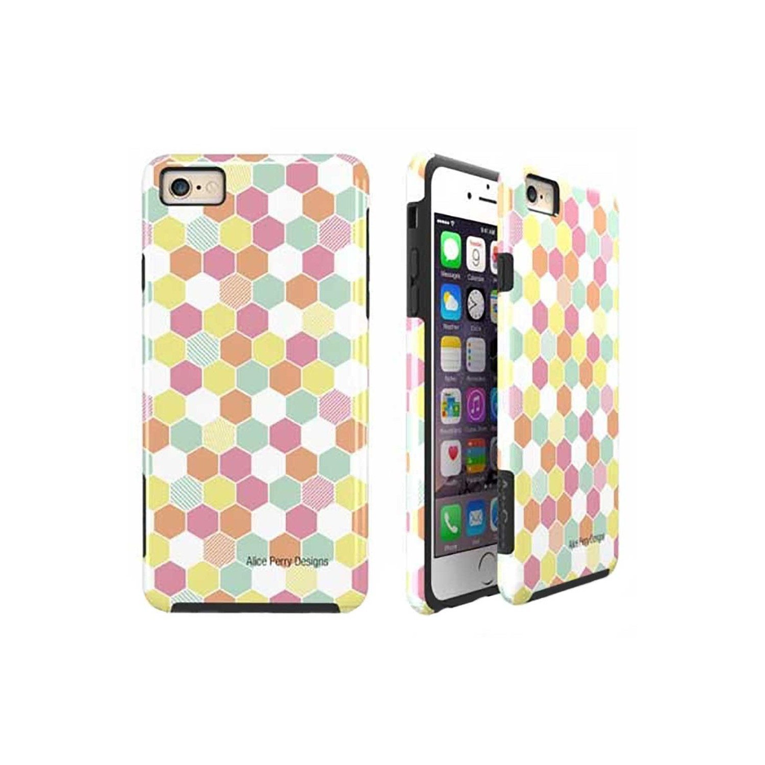 Case -  ArtsCase StrongFit for iPhone 6/6s Geo Hex