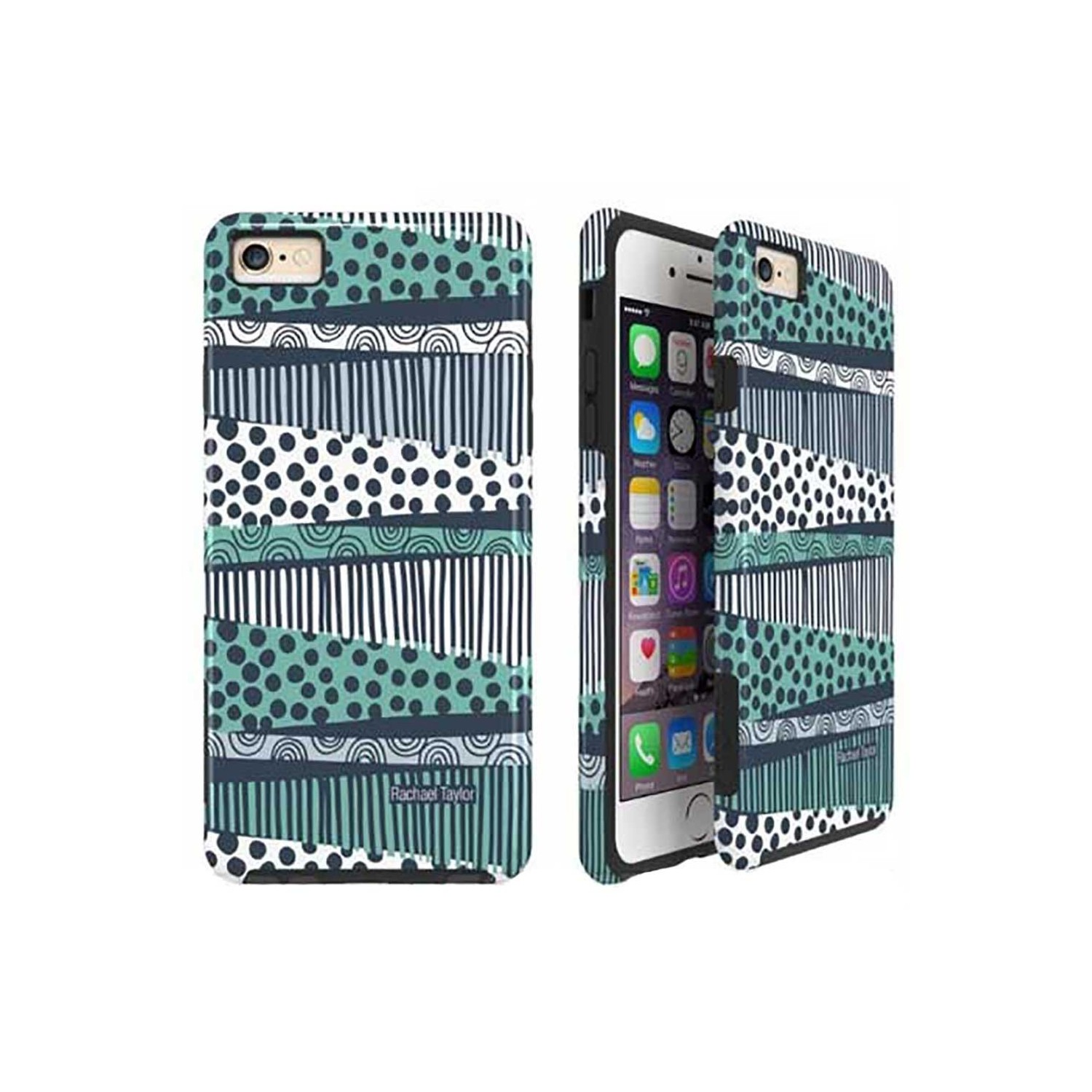 Case -  ArtsCase StrongFit for iPhone 6/6s Border Lanes