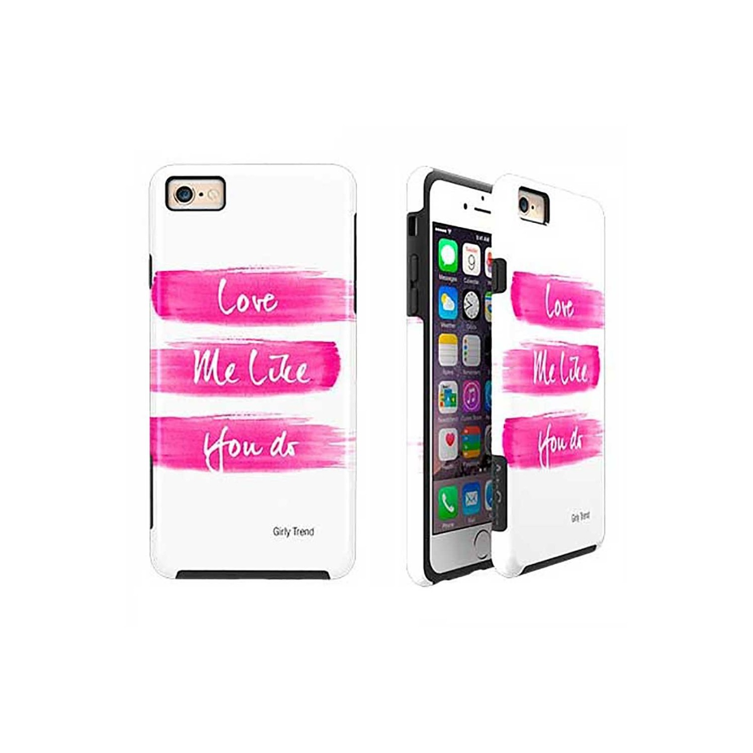 Case -  ArtsCase StrongFit for iPhone 6/6s Love Me Pink