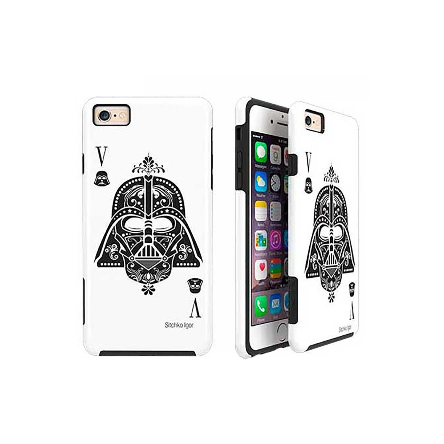 Case -  ArtsCase StrongFit for iPhone 6/6s Darth Card