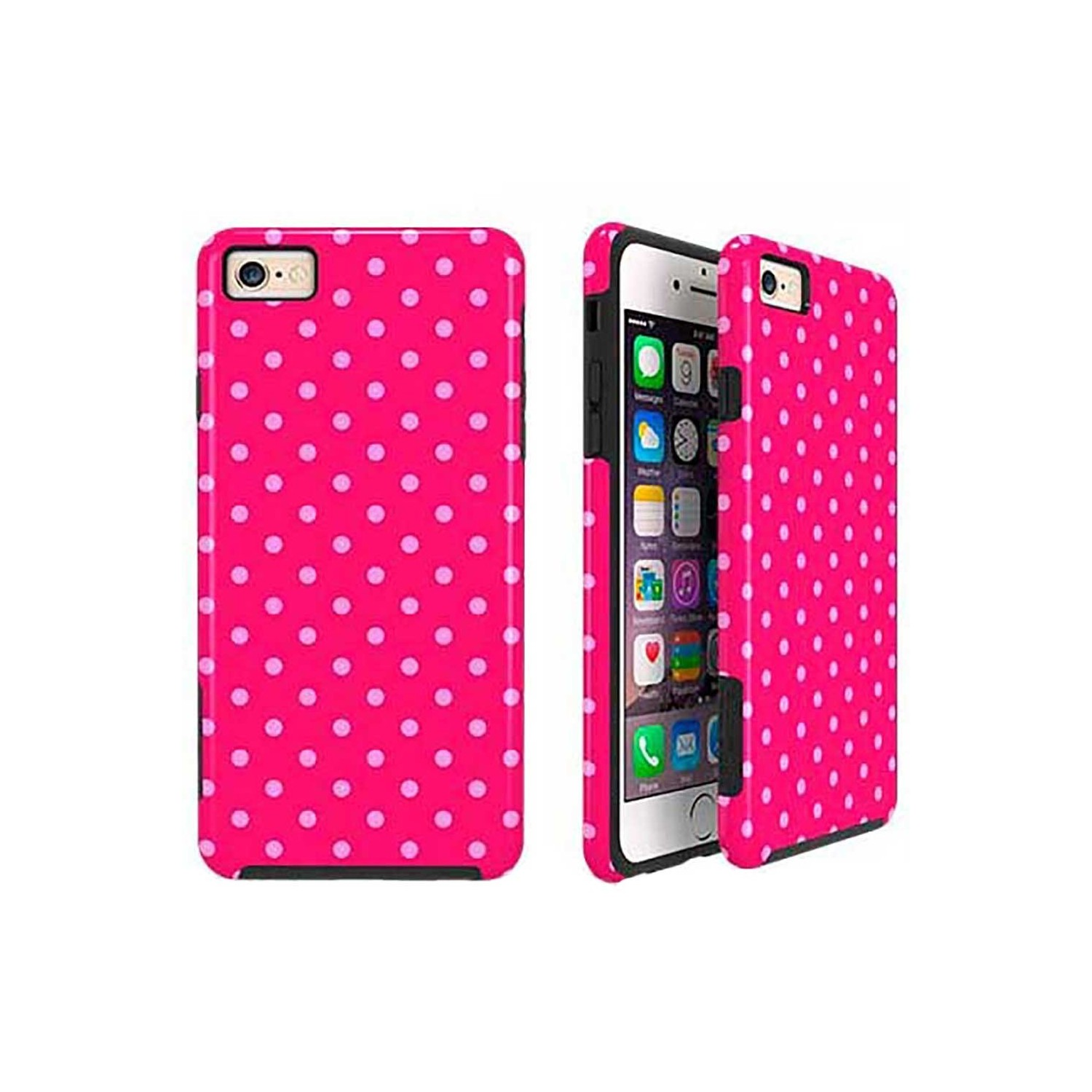 Case -  ArtsCase StrongFit for iPhone 6/6s PinkFleckles