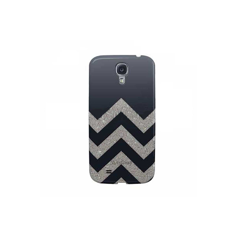 Case -  ArtsCase SlimFit for Samsung S4 Mini Chevron Gray