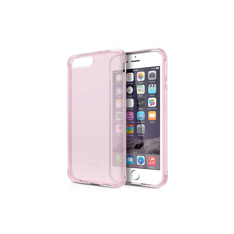 . Funda ITSKINS NanoGel para iPhone 8 PLUS y 7 PLUS Rosa Translucido