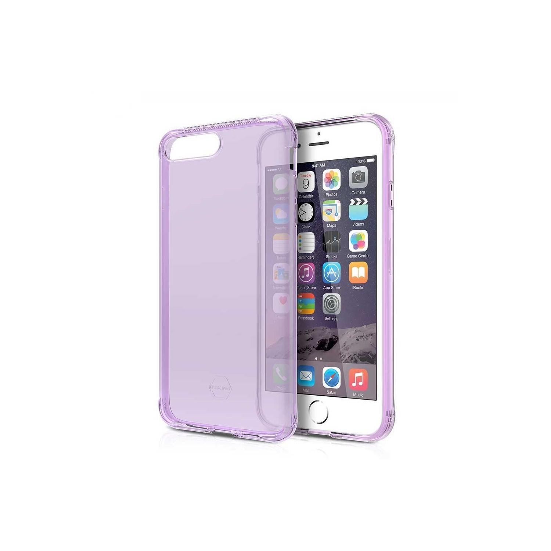 . Funda ITSKINS NanoGel para iPhone 8 PLUS y 7 PLUS Lila Translucido