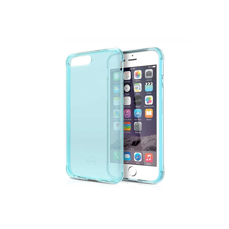 . Funda ITSKINS NanoGel para iPhone 8 PLUS y 7 PLUS Aqua Translucida