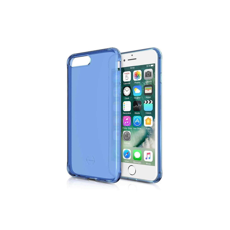 . Funda ITSKINS NanoGel para iPhone 8 PLUS y 7 PLUS Azul Translucida
