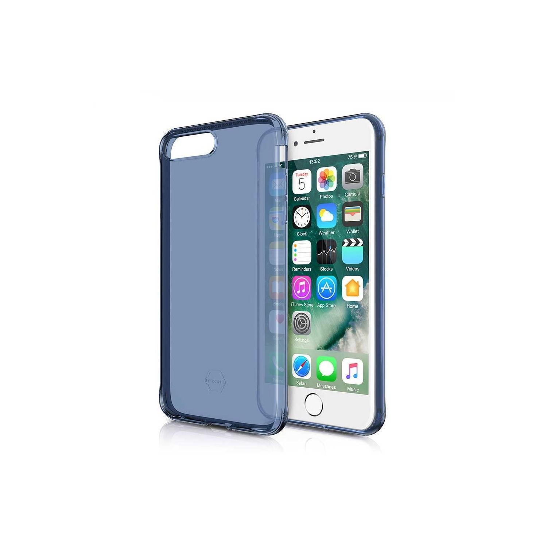 . Funda ITSKINS NanoGel para iPhone 8 PLUS y 7 PLUS Azl Translucido