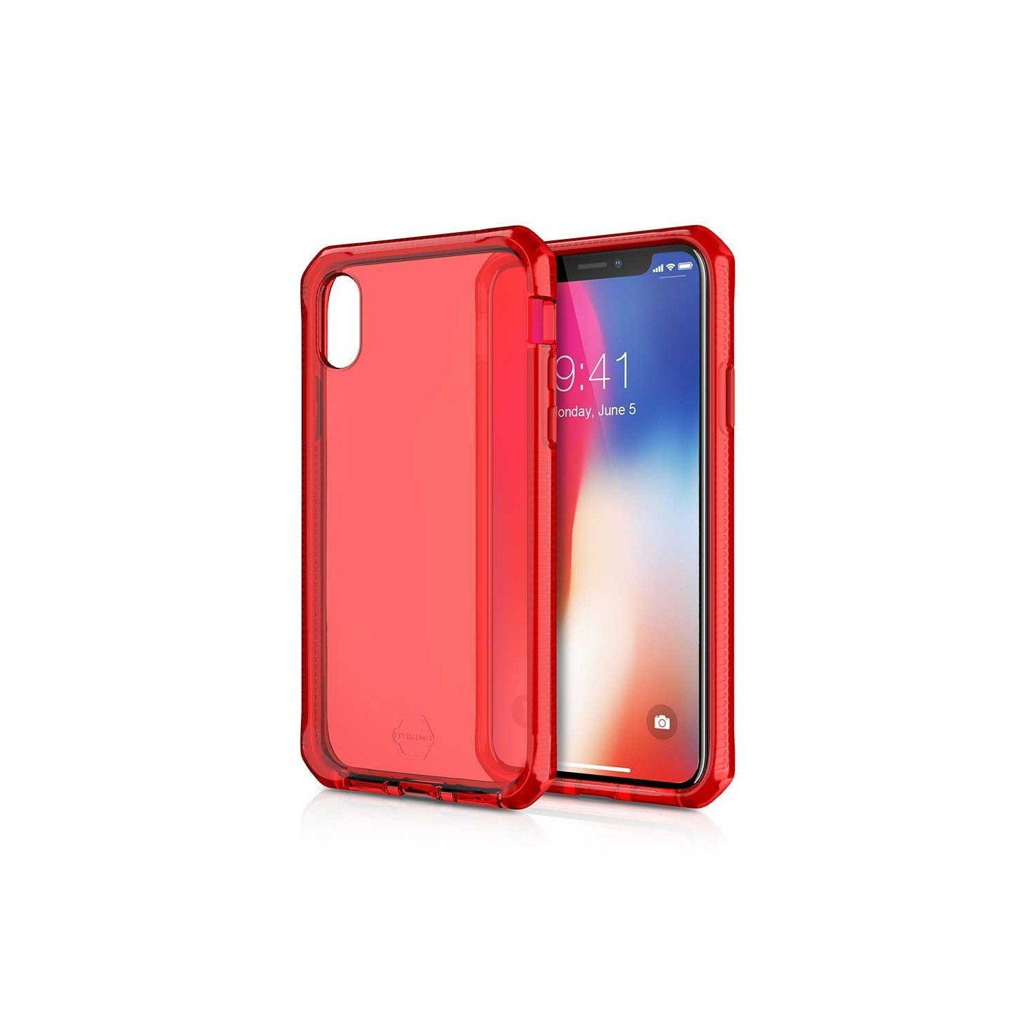 Case - ITSKINS Supreme case for iPhone Xs / X - Red