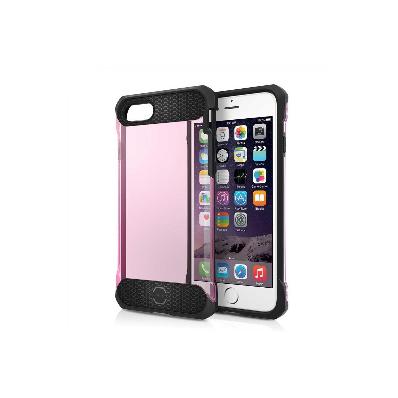 . Funda ITSKINS Spina para iPhone 8 PLUS y 7 PLUS Rosa Translucida