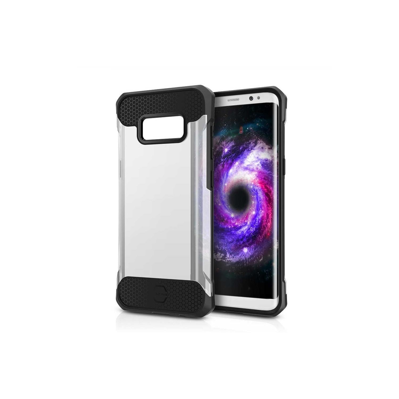 . Funda ITSKINS Spina para Samsung S8 Neg Transparente