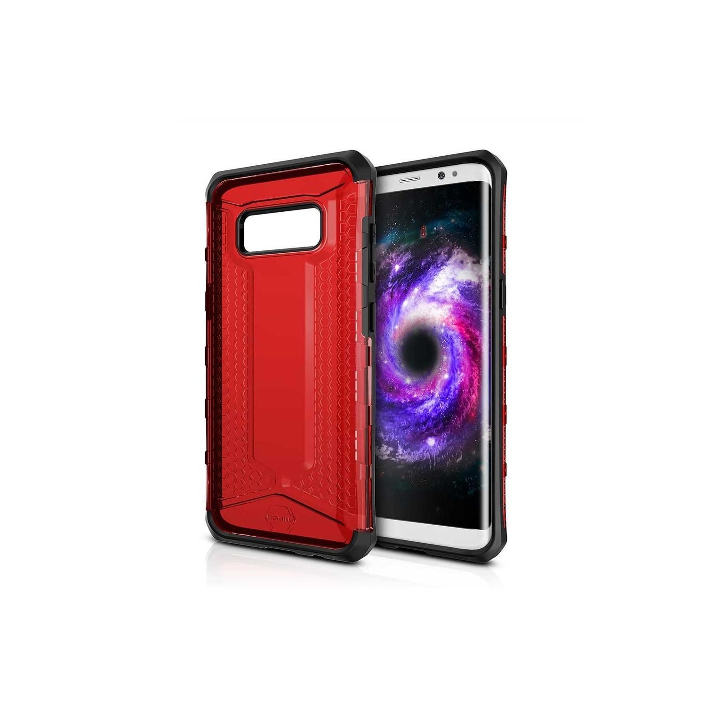 . Funda ITSKINS Octane para Samsung S8 Roja Translucida