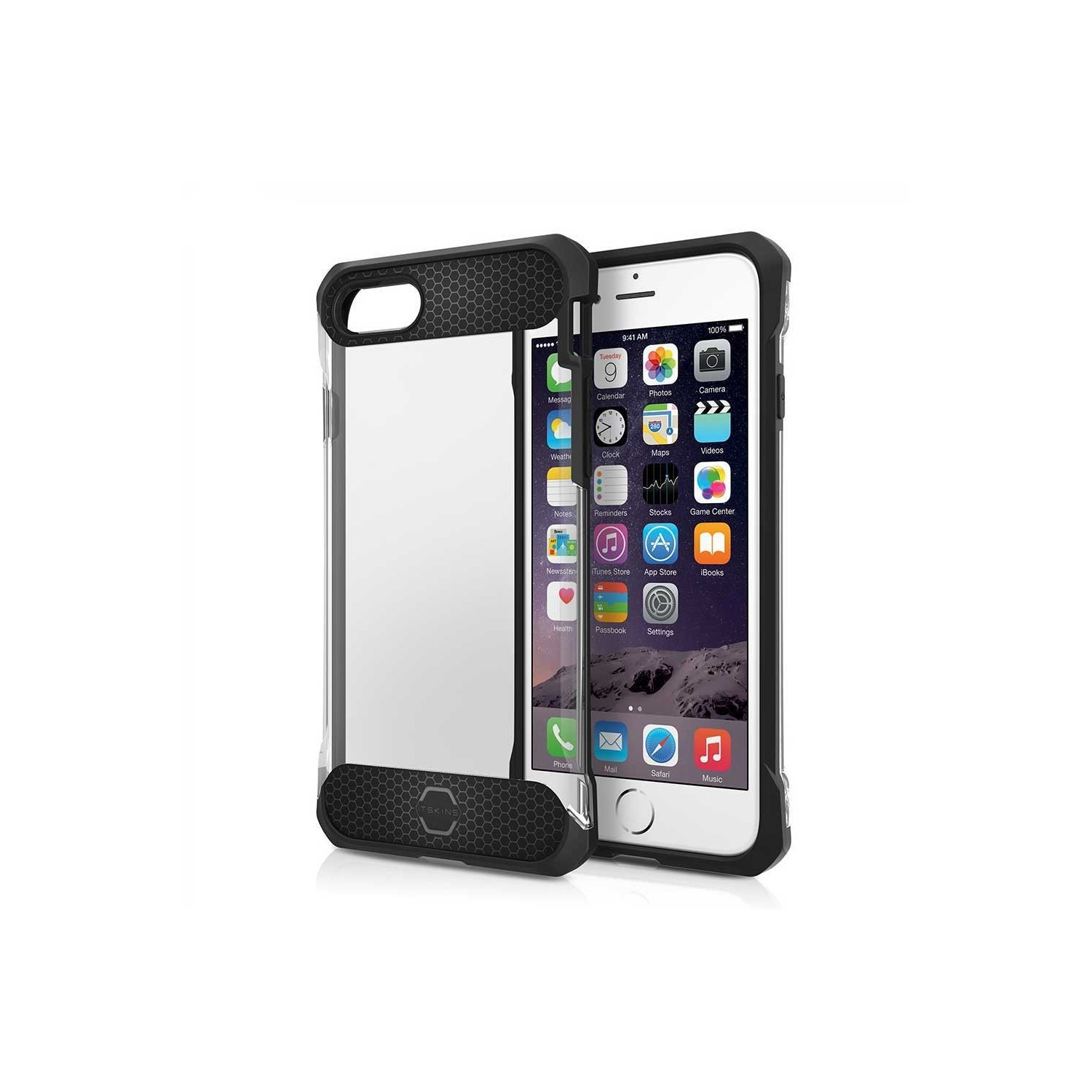 Case - ITSKINS Spina case for iPhone 8 / 7 - Clear