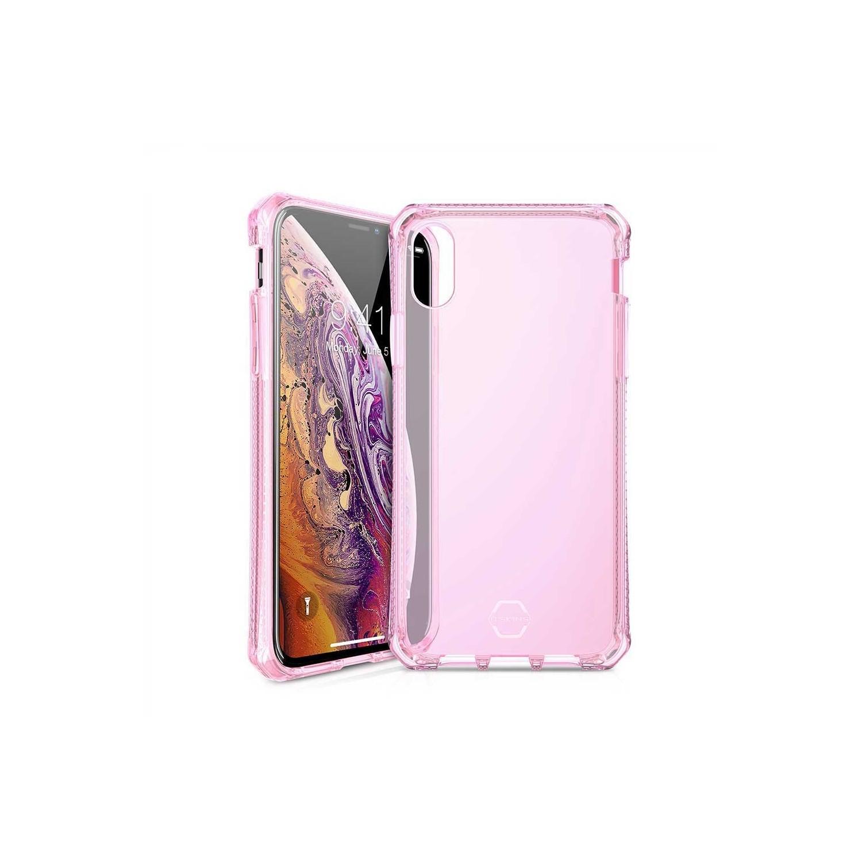 . Funda ITSKINS Spectrum para iPhone X y Xs Rosa Translucido