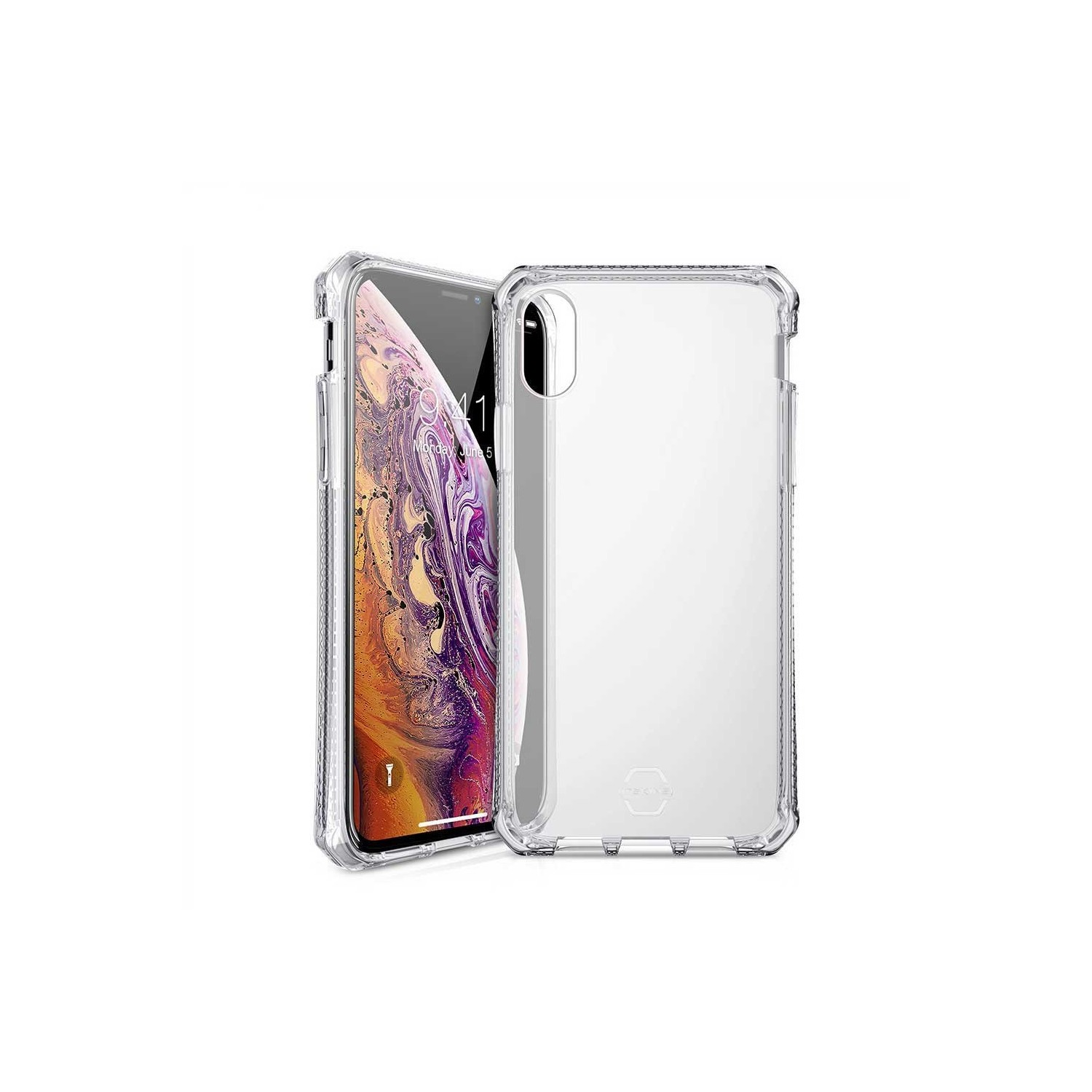 Case - ITSKINS Spectrum case for iPhone Xs / X - Clear