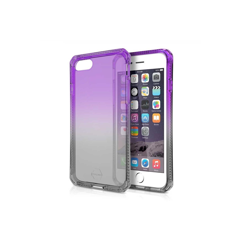 Case - ITSKINS Spectrum case for iPhone 8 / 7 - Smoke Purple