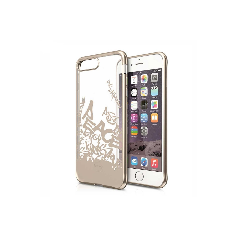 Case - ITSKINS Artgel case for iPhone 8 / 7 - Clear Gold