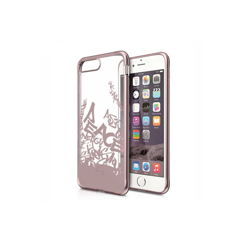 . Funda ITSKINS Artgel para iPhone 8 PLUS y 7 PLUS Tra Rose Gold