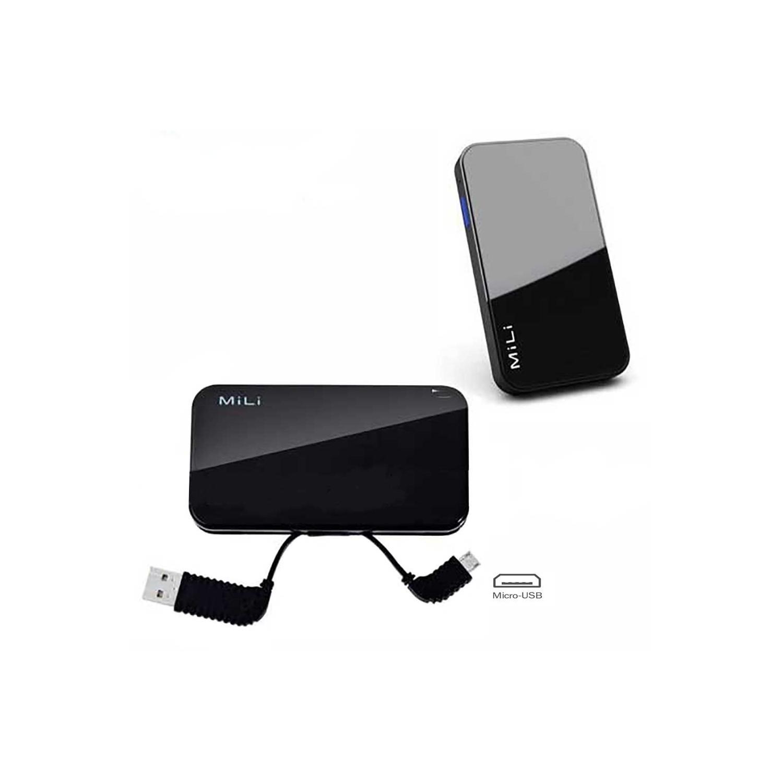 Bateria Recargable MILI Powerbank Micro USB 2000mAH Universal
