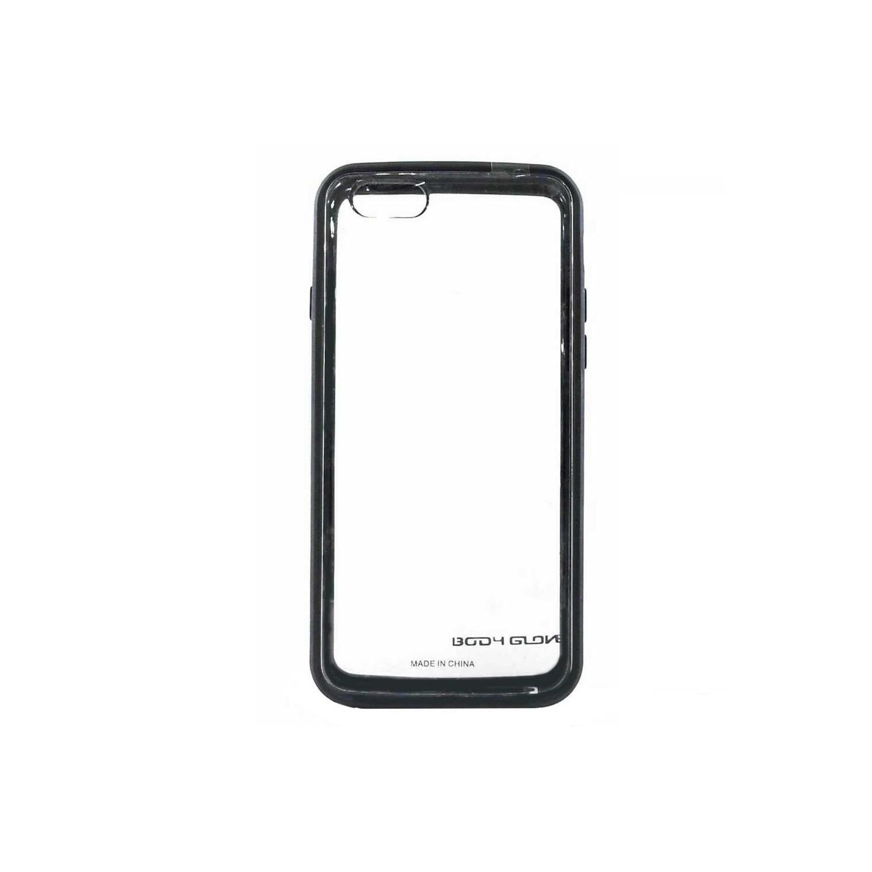 . Funda Body Glove MySuit para iPhone 6 Transparente con borde Negro