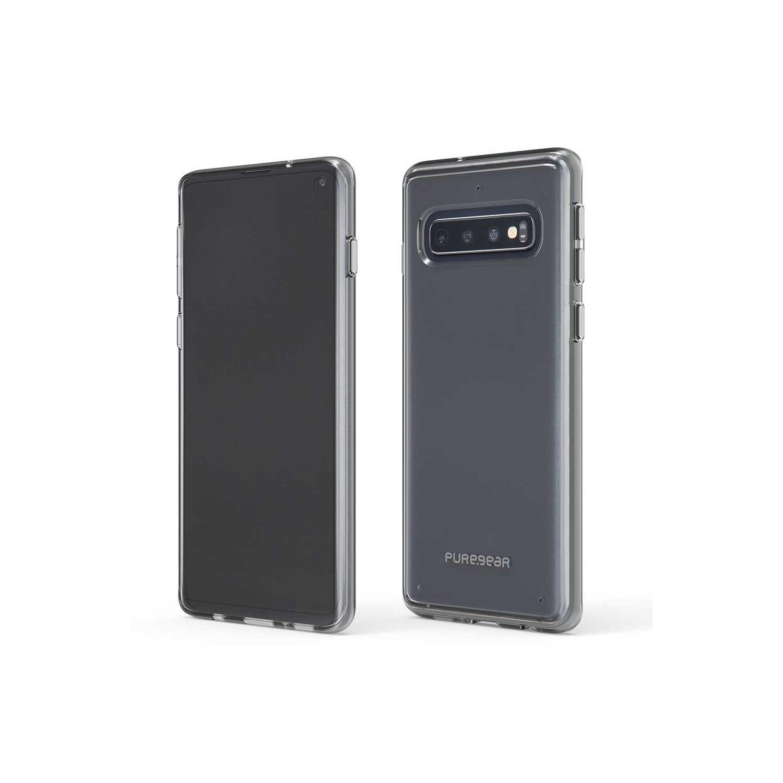 . Funda PUREGEAR Slimshell para Samsung S10 Transparente