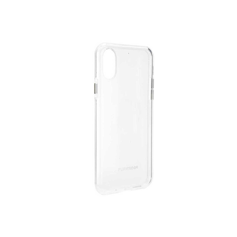 . Funda PUREGEAR Slimshell para iPhone X y Xs Transparente Claro