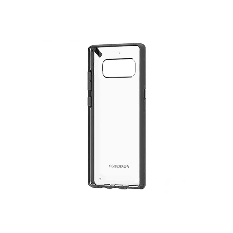 . Funda Puregear Slimshell para Samsung Note 8 Transparente Negro