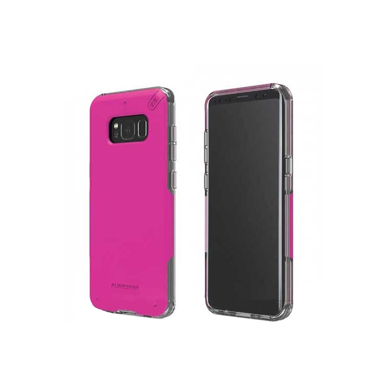 . Funda PUREGEAR Dualtek Pro para Samsung S8 PLUS ROSA