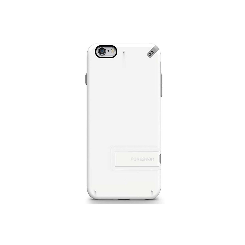 . Funda PUREGEAR Slimshell para iPhone 6 PLUS Kickstand Blanca