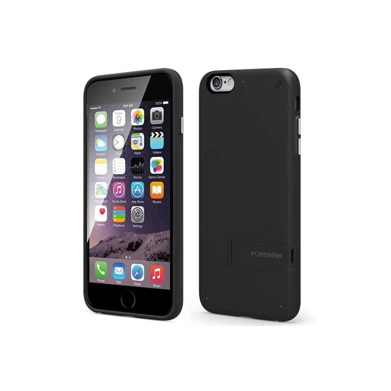 . Funda PUREGEAR Slimshell para iPhone 6 PLUS Kickstand Negra