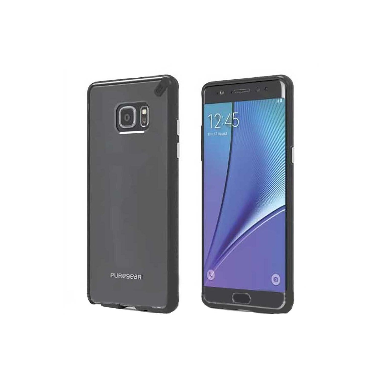 . Funda PUREGEAR Slimshell para Samsung Note 7 Transp Negro